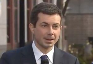 Read more about the article Pete Buttigieg Claims Democrat Infrastructure Plan Will Stop Climate Change