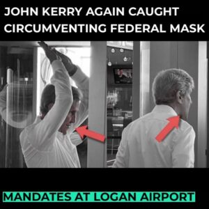 Read more about the article White House climate envoy John Kerry was photographed without a face mask while