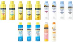 Read more about the article ALERT: Select Neutrogena, Aveeno Sunscreen Recalled For Cancer Risk