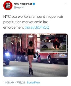 Read more about the article Prostitution on fleek. Sounds like it's time to reopen Studio 54.