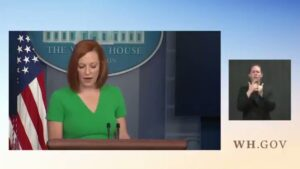 Read more about the article Psaki blowing it more than usual on this one. And deep down she knows it. Microe