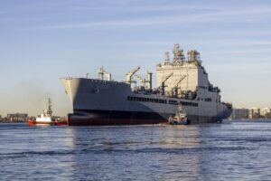 Growing our #NavyCapacity   #USNavy will christen its first-in-class replenishme