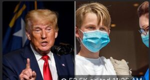"""Read more about the article NEW – Trump warns COVID-19  vaccines are potentially dangerous for kids: """"Stop v"""