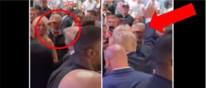 Read more about the article Mel Gibson Spots Donald Trump At Conor McGregor's Fight. What He Does Next Will
