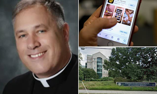 BREAKING: Top official in US Catholic Church resigns after 'cellphone data revea