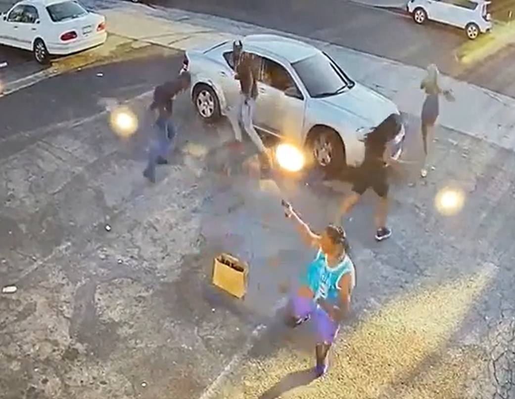 WATCH: Armed Victim Turns Tables on Would-Be Robber In Los Angeles