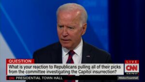 """Read more about the article PRES. BIDEN: """"The idea that the Democrats or the Biden is hiding people and suck"""