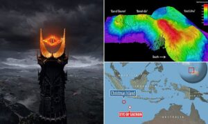 """Read more about the article """"It's time anon.""""  Ancient 'Eye of Sauron' is discovered: Scientists uncover an"""