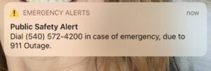 Read more about the article ALERT  911 outages, call issues reported in multiple states