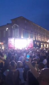 Read more about the article WATCH: Thousands protest Turin, Italy against the newly announced vaccine passpo