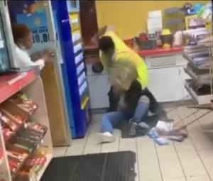 Read more about the article Shocking Video Shows Male Gas Station Worker Viciously Beating Woman Who Says She Just Wanted To Use Bathroom