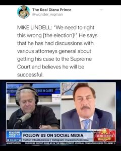 Read more about the article Looks like Mike Lindell's Cyber Symposium coming up is gonna be lit    SWIPE