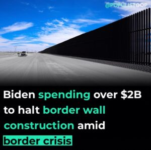 NY Post:  Turns out not building a wall is almost as costly as building one.  Jo