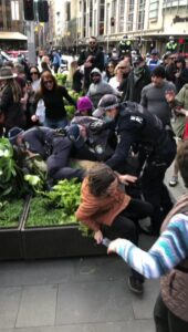 Read more about the article Americans, when you watch Australian cops bashing the crap out of Aussies for ex