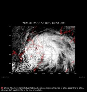 Read more about the article Typhoon In Fa this morning