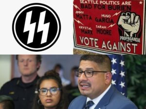 Read more about the article Washington Mayor Ridiculously Claims He Was Victim of 'Hate Crime' Because of Lightning Bolts on Yard Sign
