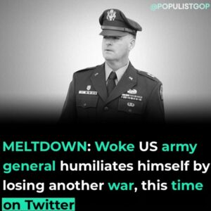 Read more about the article Opindia reported:  US Army General Patrick Donahoe recently had a meltdown on Tw