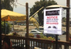 Read more about the article California Restaurant Protests Medical Tyranny By Asking Diners to Prove They Are Unvaccinated