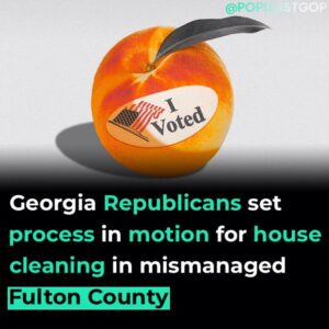 Read more about the article Georgia Republicans requested a performance review of the top elections official
