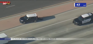 Read more about the article POLICE CHASE: Police in pursuit of vehicle in the San Gabriel Valley