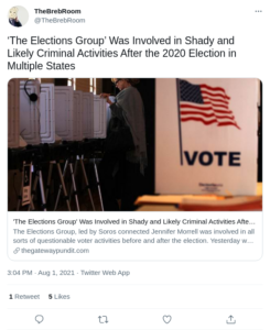 Read more about the article The Elections Group' Was Involved in Shady and Likely Criminal Activities After the 2020 Election in Multiple States