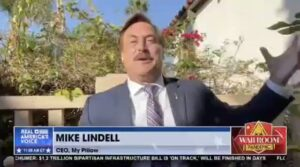 Read more about the article Mike Lindell is fired up