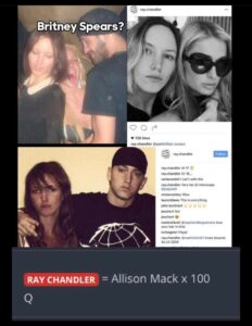 Read more about the article RAY CHANDLER = ALLISON MACK X 100 Q  If the records become UNSEALED much will be