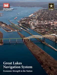 Read more about the article The Great Lakes Navigation System (GLNS) is a complex deep-water navigation syst