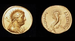 Read more about the article This #gold coin is over 2000 years old.   A true piece of history.   #GoldTelegr