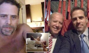 Read more about the article Video shows a naked Hunter Biden claiming Russians stole his laptop