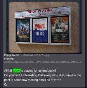 Read more about the article All three movies playing simultaneously?