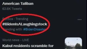 Read more about the article We did it again, fam. #BidenIsALaughingstock