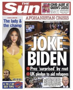 Read more about the article The world is laughing at Joe…