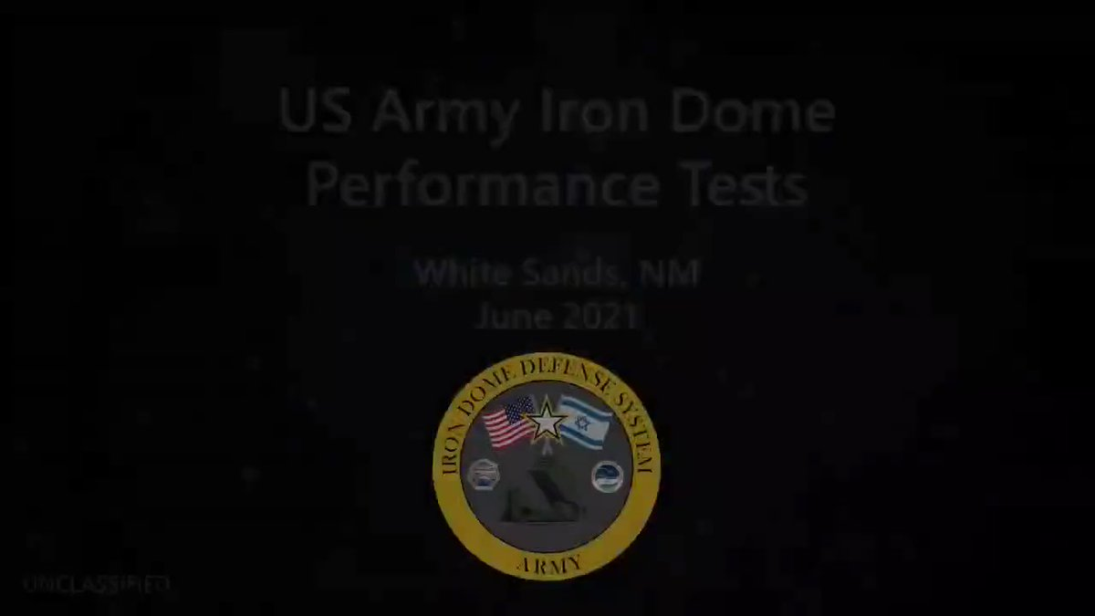 You are currently viewing WATCH: US military tests Iron Dome System on American Soil