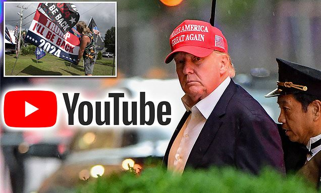 You are currently viewing Trump calls on YouTube to reinstate his access due to 'irreparable harm' of a co