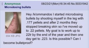 Read more about the article 4chan unlocking the secrets to #bulletmaxxing