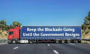Read more about the article Truckers in Australia aren't playin' around!