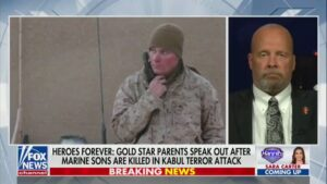 Read more about the article Gold Star Father Darin Hoover, whose son Marine Staff Sgt. Taylor Hoover was kil