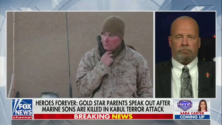 You are currently viewing Gold Star Father Darin Hoover, whose son Marine Staff Sgt. Taylor Hoover was kil