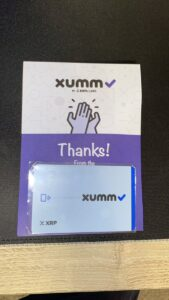 Read more about the article Just got my @XummWallet Card!! @Ripple $XRP #XRPL   Just in time for 589+++   To