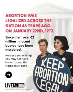 Read more about the article Here are things you may not know about Roe v. Wade, the Supreme Court ruling tha
