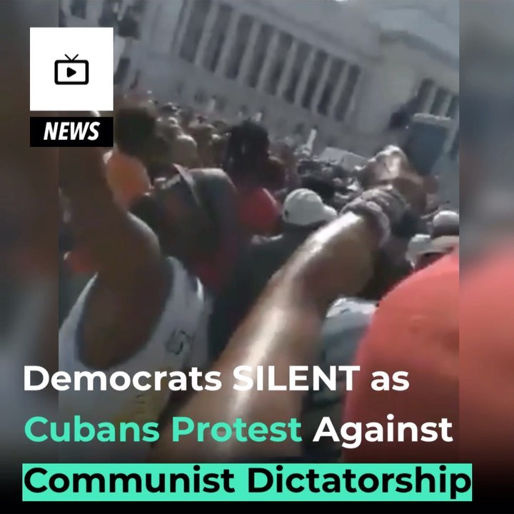 """You are currently viewing Thousands gather around the National Capitol Building in Havana,  chanting """"LIBE"""