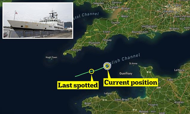 You are currently viewing Russian spy ship is sailing in the English Channel