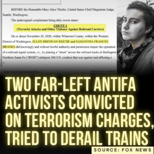 Read more about the article Fox News: Two far-left activists from Washington state associated with antifa si