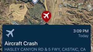 Read more about the article #URGENT: Emergency crews responding to possible plane crash north of Los Angeles