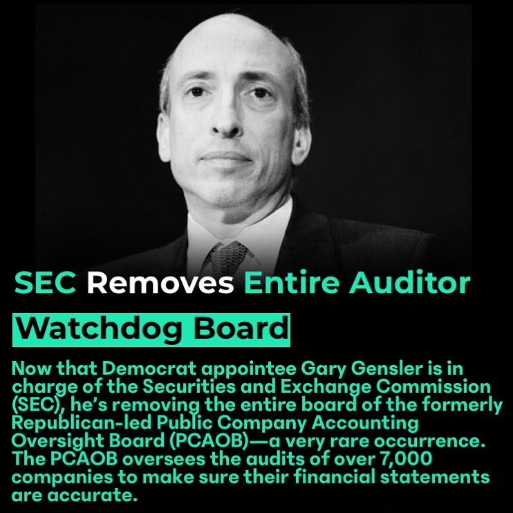 You are currently viewing NTD News: Now that Democrat appointee Gary Gensler is in charge of the Securitie