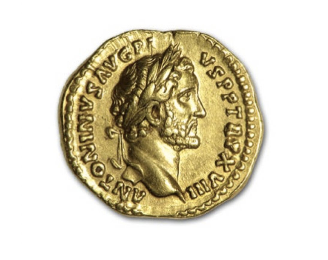 You are currently viewing This #gold coin is 1500 years old and was used during the Roman Empire era.   Ge