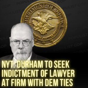 Read more about the article NYT:  The lawyer, Michael Sussmann, is accused of lying to the F.B.I. in a 2016