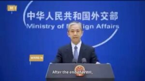Read more about the article JUST IN – China accuses the U.S. and Japan of running a secret biological warfar
