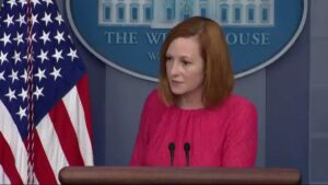 Read more about the article JUST IN: Psaki grilled by press on Biden's frequent cough: